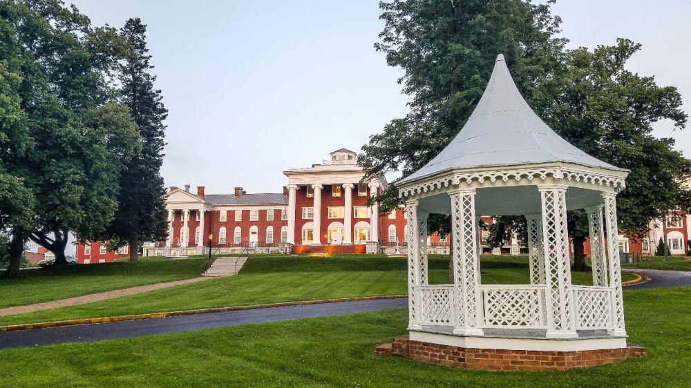 The Blackburn Inn front lawn